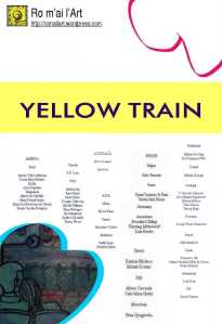 Yellow Train MailArtArtists